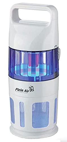 Mosquitera eléctrica insecticida con ventilador de aspiración y lámpara actínica de 7 W