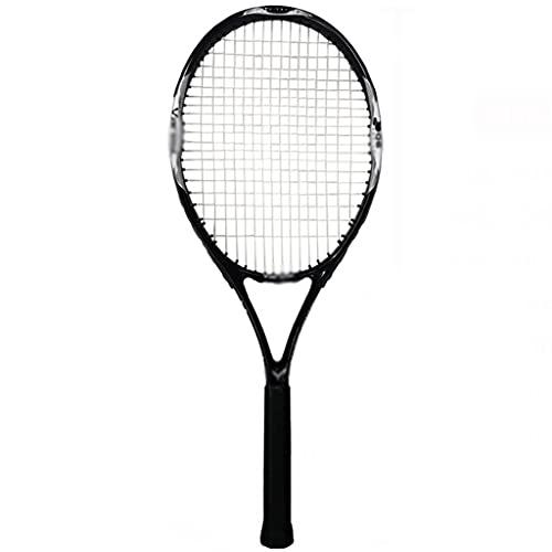 Raqueta de tenis Cómodo para principiantes raqueta de tenis más ligera y fácil de usar raqueta de tenis roja (1x raqueta de tenis, 1x bolsa de raqueta, 2x tenis con cuerdas, 1x entrenador, 1x amortigu