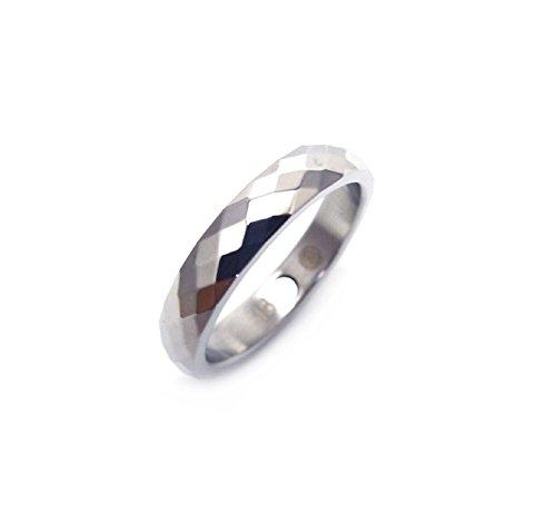 Lichtspiel Facettenschliff Energetix 4you 266 Premium Fashion Magnetring Diamond Cut Partnerring Ehering Verlobungsring - 18