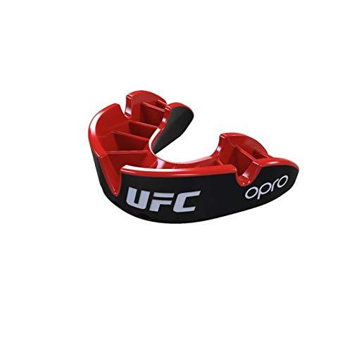 """Opro """"UFC Zahnschutz Silver - Black/Red Senior"""