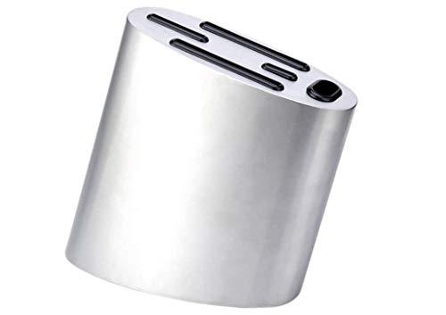 SSQQ Multifunktionaler Messerhalter Edelstahl Magnetische Messerhalter Kreative Küche Messerhalter Edelstahl Messerhalter Küche Rack Messer Lagergestell Magnet-Messerhalter