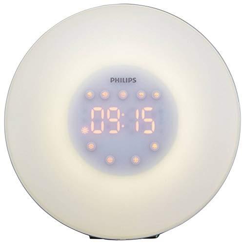 Philips HF3508/01 Light Therapy Lichtwecker HF3508/01, Wecklicht, 200 LX, LED, Gelb, 30 min, China
