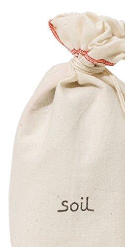 soilドライングサックホワイト約14×7×5cmL253