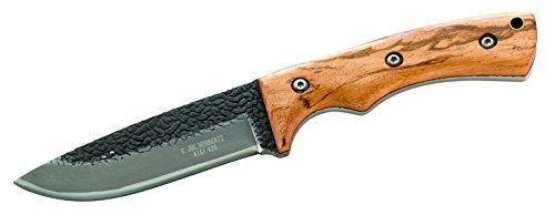 Herbertz Unisex– Erwachsene Messer Gürtelmesser Zebraholz Gesamtlänge: 21.5cm, grau, M