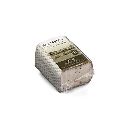 Lardo Speziato, Manteca de cerdo con especias, Salumi Pasini, 300 gr