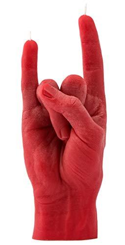 CandleHand Hand Geste Kerze You Rock - Große echte Hand Größe 20 x 8 x 7,5 cm - Handgemachte Hauptdekoration Statue - Geburtstag, Büro, Einweihungsparty