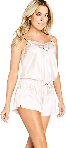 Sylvie Flirty Lingerie Damen Nachthemd Avalon, Rosa, Medium