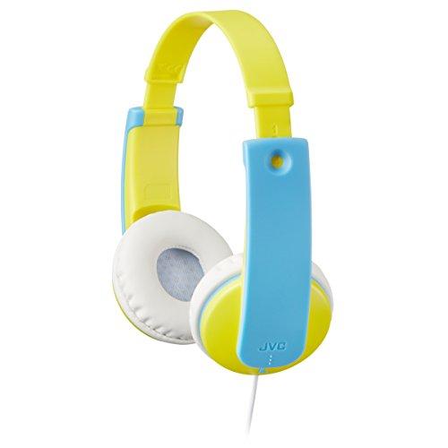 JVC HAKD7Y Kid's Headphones (Yellow)