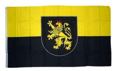 Fahne / Flagge Pfalz Wappen 90 x 150 cm Flaggen