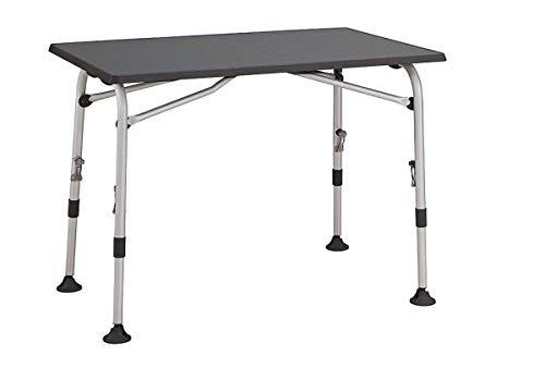 Westfield Table d'extérieur légère Aircolite résistante aux intempéries 5,9 kg 80 x 55/76 x 60 cm