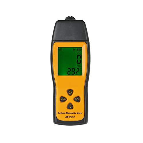 Monitor di qualità dell'aria, 2 in 1 CO Rivelatore di gas del tester di temperatura di monossido di carbonio Analizzatore...