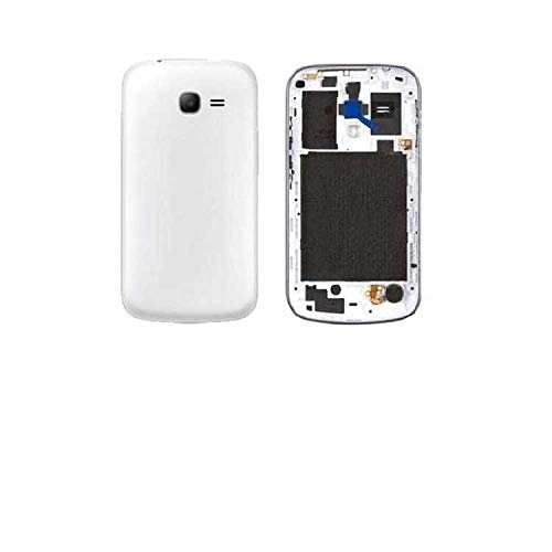 Red Champion Full Body White Housing Panel for Samsung Galaxy Star Pro GT S7262