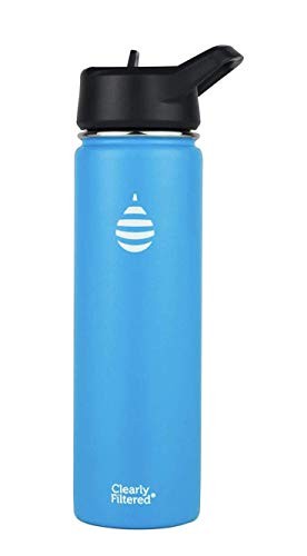 Insulated Stainless Steel Water Bottles (Blue)
