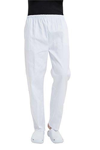 BSTT Hombre Pantalones Sanitarios Pantalón de Uniforme Cintura elástica Nueva Mejora Gruesa XL