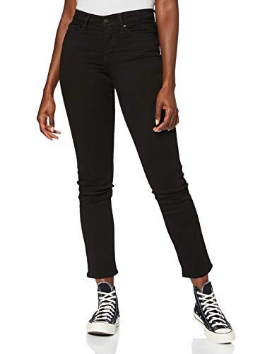 Levi's 312 Shaping Slim Jeans, Soft Black, 33W / 32L para Mujer
