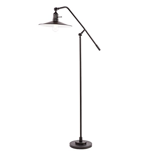 SEI Furniture Valetta Floor Lamp, Matte Black