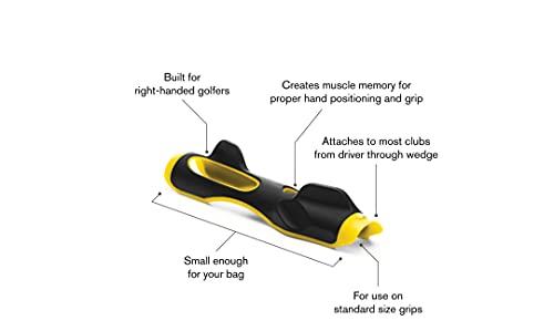 SKLZ Golf Grip Trainer Attachment for Improving Hand Positioning