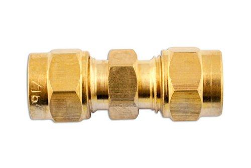 RACCORDS CONNECTEURS DOUBLES - TUBE 3/16 (SACHET de 10)