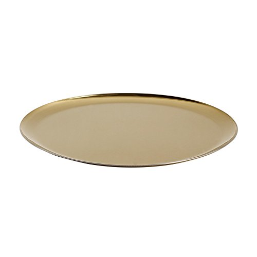 Serving Tray Tablett Gold Hay