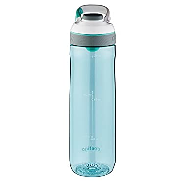 Contigo AUTOSEAL Cortland Water Bottle, 24 oz, Greyed Jade
