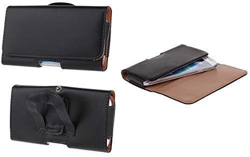BRALEXX Gürteltasche Quertasche Bauchtasche Seitentasche Hülle mit Clip Hülle Tasche mit Gürtelbefestigung UNIVERSAL 6-6,7 Zoll für VIVO Y70 Y72 Y20s X51 X60 Pro