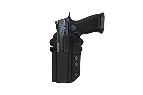 COMP-TAC.COM International Holster Sig - P320 Series (fits P320 Full Size, X-Five Full Size and Legion) - Left - Black (Belt, Paddle, Drop Offset)