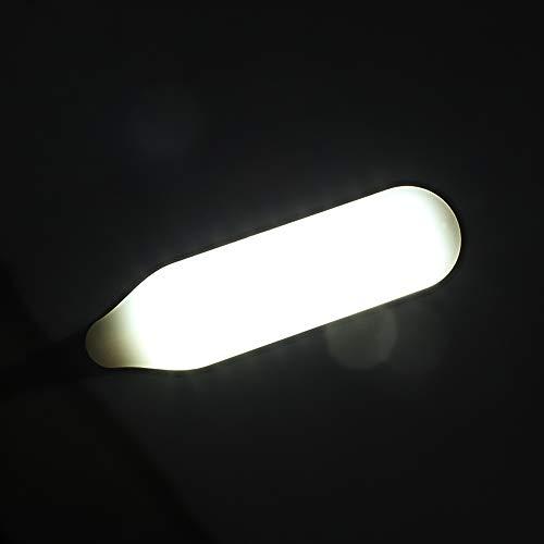CHICIRIS Lámpara LED de Costura, Lámpara LED Multifuncional de Ahorro de energía, Escritorios Taladro Prensas Bancos de Trabajo Atriles de música Artesanía para tornos Máquina de Coser(Black, Transl)