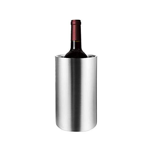 Seau isotherme en acier inoxydable à double paroi pour bouteille de vin blanc