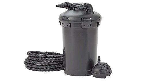 Pontec 57147 PondoPress Pumpe 15000 | Druckfilter | Komplettset mit Teichfilter | Aussenfilter | Teichfilter | UVC