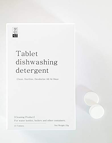 Tablet dishwashing detergent- Premium Tumbler Cleaner, Clean, Deodor All at Once, Natural, Hydration Pack Cleaning Tablets, Bottle Cleaner