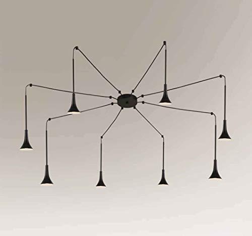 SHILO HIDA 7980 - Lámpara de techo (8 x 4,5 W, LED, 430 lm, IP20)