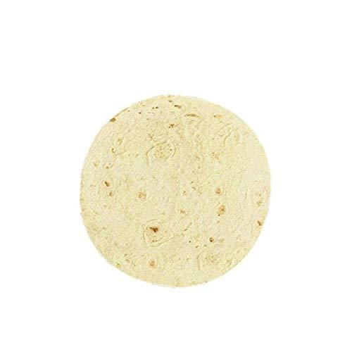 Sgn Mauspad Matte Pfannkuchen Flapjack Pizza Kekse Anti-Rutsch-Arbeitsmaus Pads Gummi Rundes Mäusepad Laptop Laptop Matte Zubehör, 01