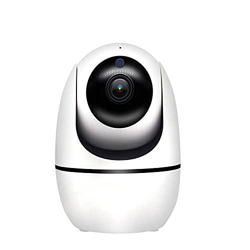 Cámara De Seguridad De Interior Niños Vídeo, Cámaras De Vigilancia, Cámara 1080P WiFi IP con La Tarjeta De 32GB TF, Audio Bidireccional, Visión Nocturna, Detección De Movimiento PIR