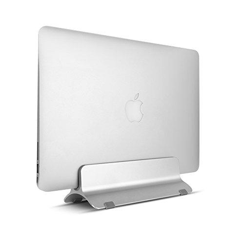 Soporte Aluminio Vertical Portátil, Ajustable Stand de Sobremesa para Ahorra Espacio, Dock Laptop Holder para Apple MacBook Pro/aire
