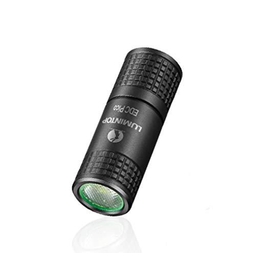 ZTXSDT Mini lampe de poche USB EDC Pico Osram PUSRA1 LED Max 130 lumens 40 mètres porte-clés Mini lampe de poche colorée