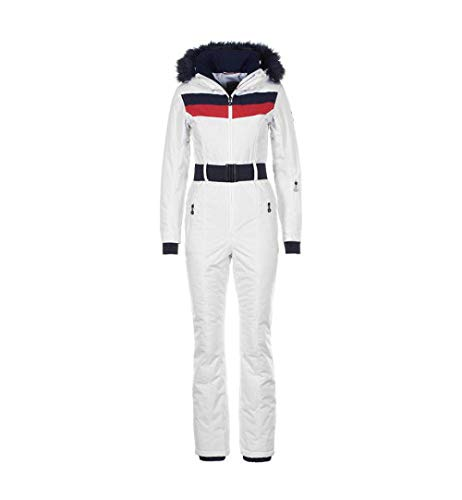 Peak Mountain - Combinaison de Ski Femme ARCTIA-Blanc-M