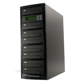 DVDデュプリケーター R7-LB+HDD(LG搭載) 日本語表示 7シリーズ(1:8)DVDコピー機
