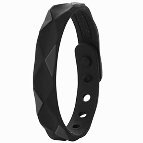 Pulseras de motivación hechas de silicona, pulsera de fitness antiestática, pulsera antiestática ajustable, pulsera deportiva con eliminador de estática corporal de silicona, unisex