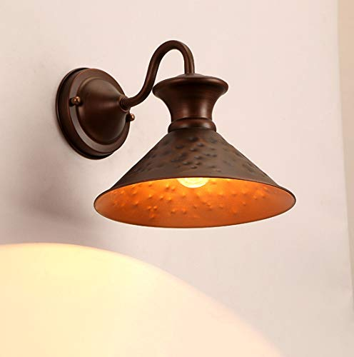 Retro Wandlampe Antik Metall Wandleuchte Innen für Lanhaus Restaurant, Café, Wohnzimmer