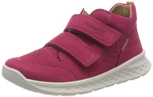 Superfit Jungen Mädchen Breeze Sneaker, ROT/ORANGE, 20 EU