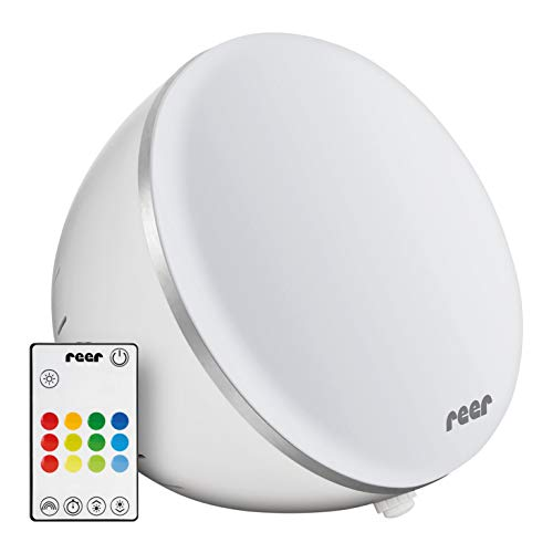 3in1 LED Tageslichtlampe, Wohlfühl-Licht/ Stimmungslicht, 10.000 Lux, mit Farbwechselfunktion und Fernbedienung, für mehr Power und Vitalität