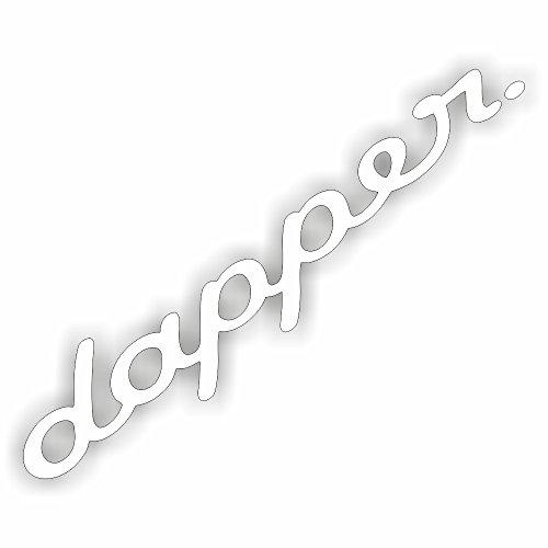Schönheits Shop Dapper Illest Auto Aufkleber XXL Frontscheibenaufkleber Sticker Tuning Shocker
