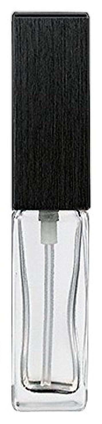 アーサーコナンドイルバウンドお勧め16494 メンズアトマイザー 角ビン クリア キャップ ヘアラインブラック