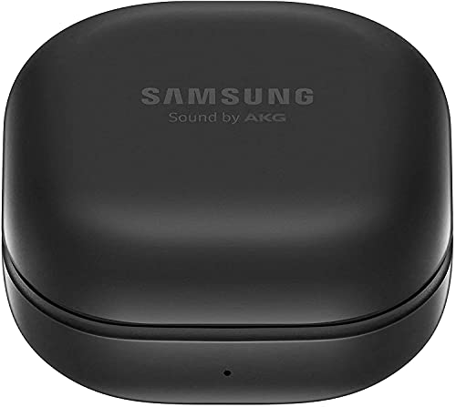 Samsung Galaxy Buds Pro, Kabellose Kopfhörer, Wireless Earbuds, ausdauernder Akku, 3 Mikrofone, Sound by AKG, 2-Wege-Lautsprecher inkl. Araree Clear Cover, Phantom Black (Deutsche Version)