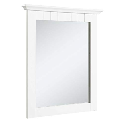 Design House 541581 Cottage Ready-To-Assemble 21x24-Inch Mirror, -