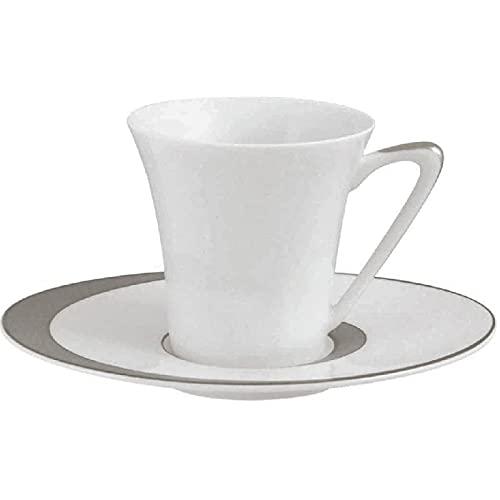 Guy Degrenne Boréal Ellipse - Juego de 4 tazas de café
