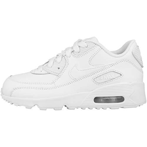Nike Air Max 90 LTR (PS), Scarpe da Trail Running Bambino, Bianco (White/White 100), 27.5 EU