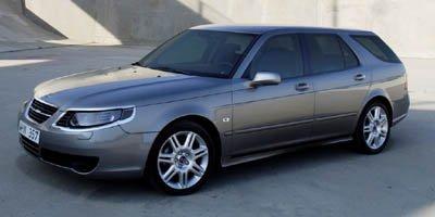 2006 Saab 9-5 Sport, 4-Door Wagon 2 3T, Steel Gray Metallic