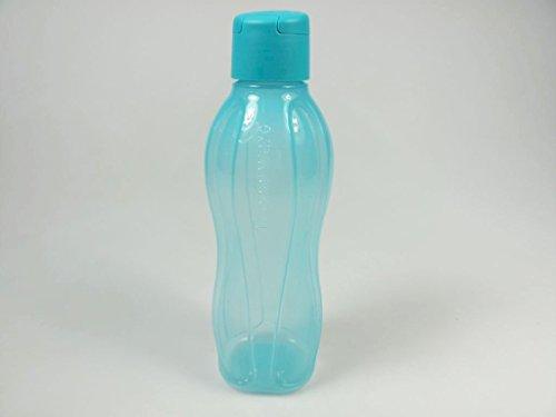 TUPPERWARE To Go Eco 750ml blau Trinkflasche Klippverschluss Ökoflasche EcoEasy 7237