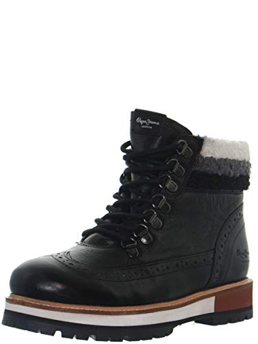 Pepe Jeans London Damen Montreal Hyke Desert Boots, Schwarz (Black 999), 38 EU